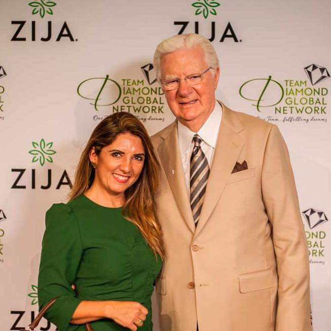 Greathly with Bob Proctor