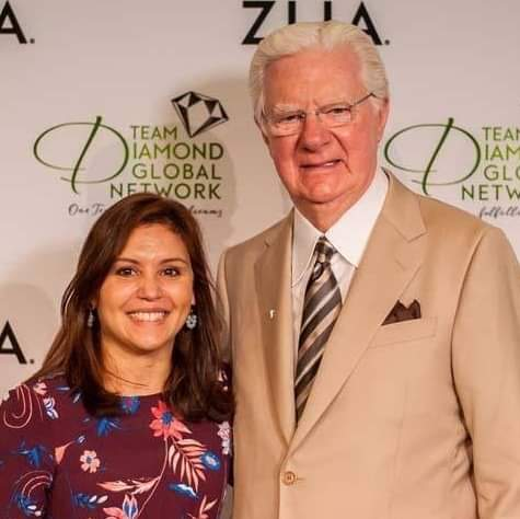 Roselyn Zeinstra with Bob Proctor